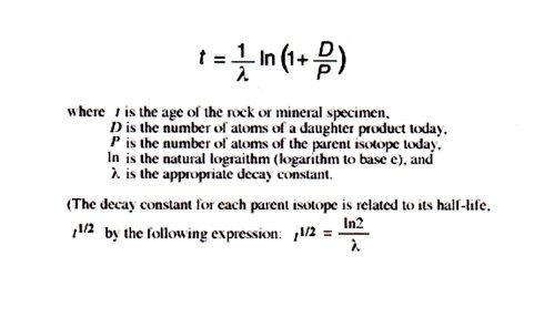 Geological Time Formula034